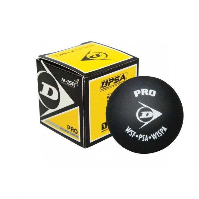 Balle de squash Dunlop Pro - 1 balle | My-squash.com