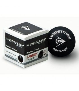 Dunlop Competition Squash ball - 1 ball | My-squash.com