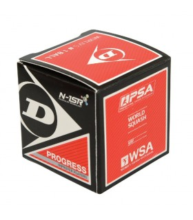 Dunlop Progress Squash ball - 1 ball | My-squash.com