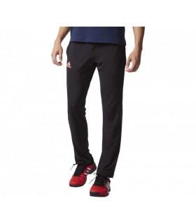 Adidas Barricade Pantalon pour Homme Noir/ Rouge| My-squash.com