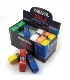 Karakal PU Super Grip - Boite de 24 grips assortis | My-squash.com