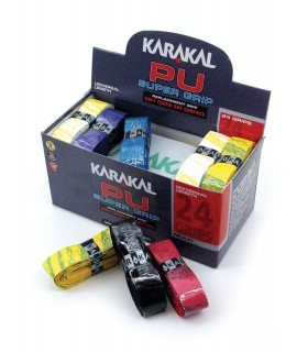 Karakal PU Super Grip - Box of 24 grips multi | My-squash.com