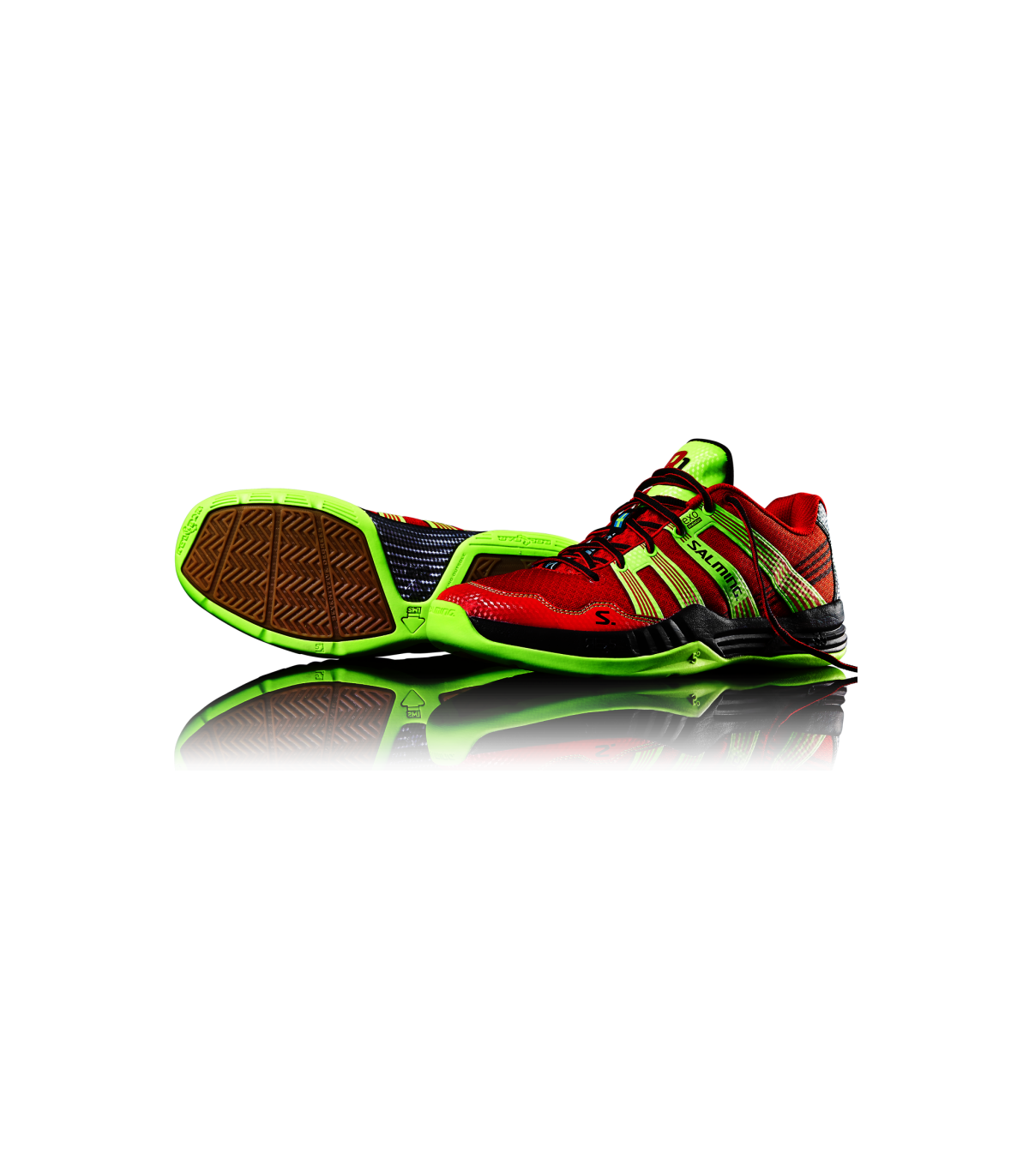 0 Race R1 My Salming Chaussure 3 Squash Rougejaune wxBnH