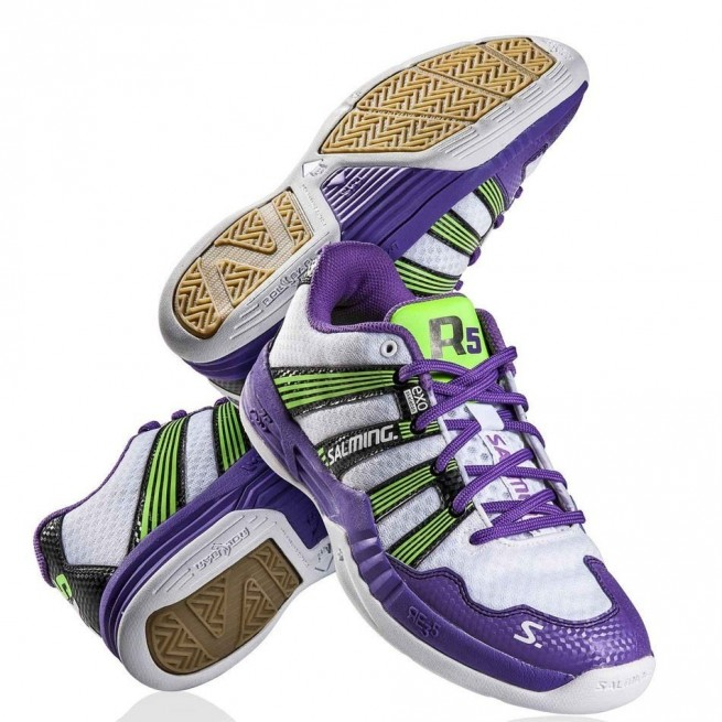 Salming Race R5 2.0 Purple Squash shoes | My-squash.com