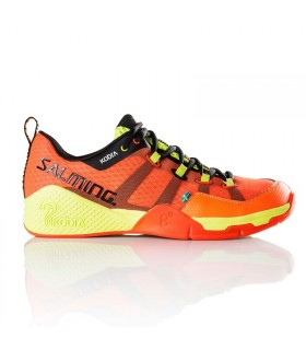 Salming Kobra Magma Red / Black Squash shoes | My-squash.com