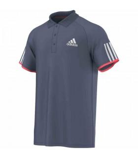 Adidas Club Polo Homme Gris | My-squash.com