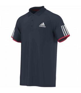 Adidas Club Polo Homme Bleu |My-squash.com