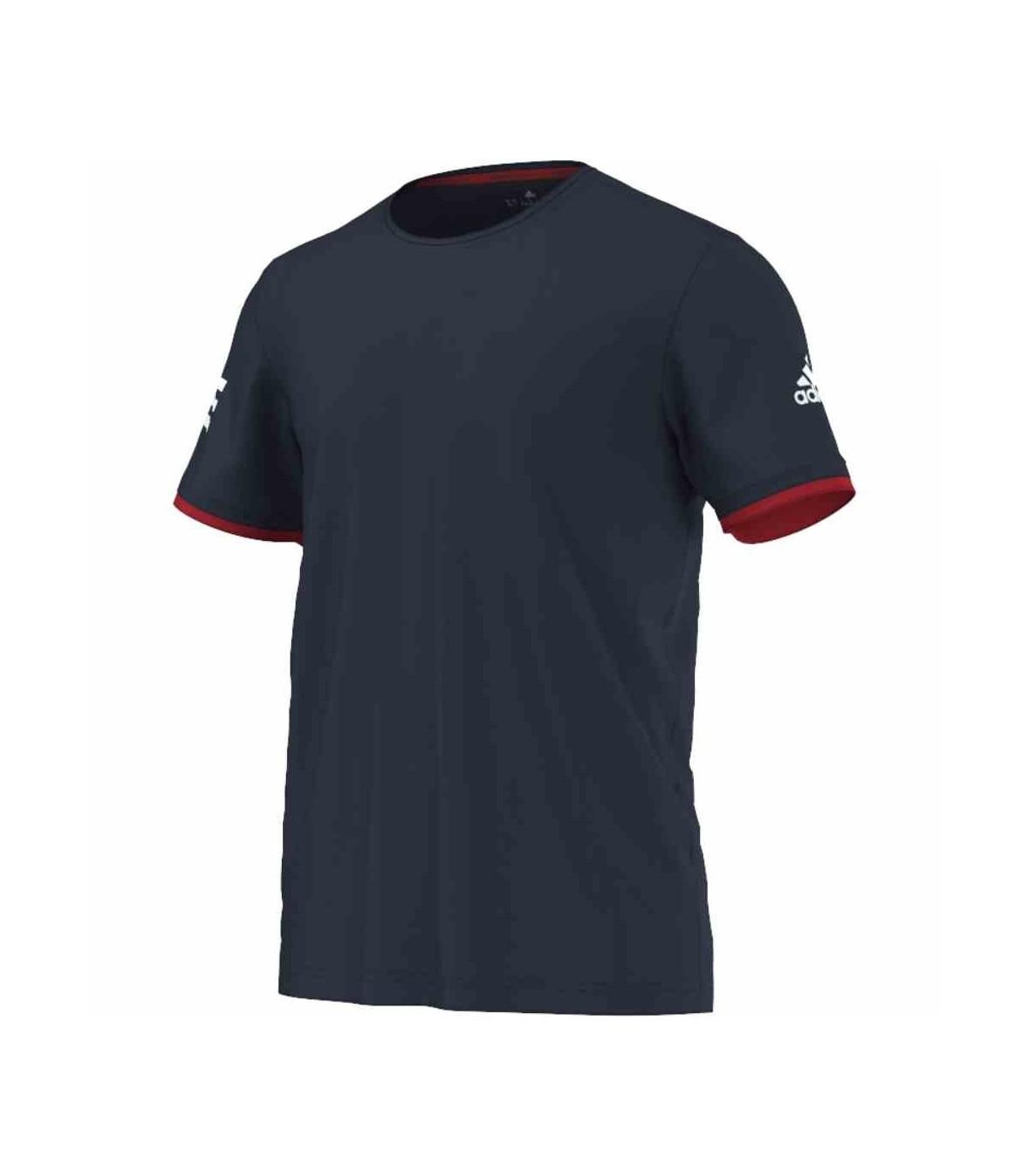 BlancMy Navy Shirt Hommescollegiate Club Adidas T I9WEDH2Y