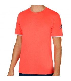 Adidas Club T-Shirt Homme Rouge |My-squash.com