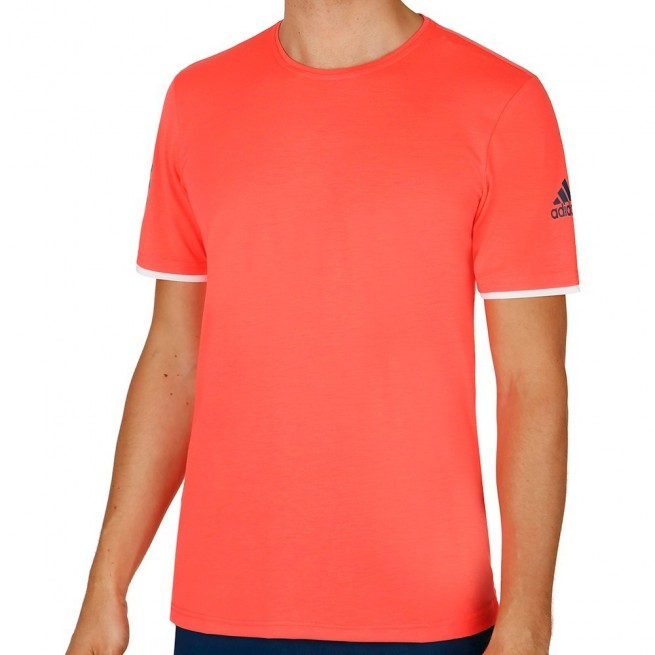 t-shirt adidas homme rouge