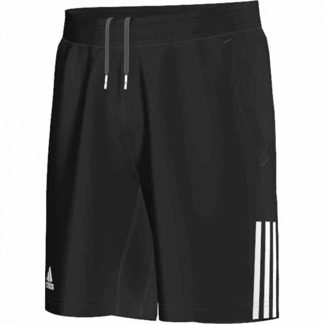 Adidas Club Shorts Men Black/ White | My-squash.com