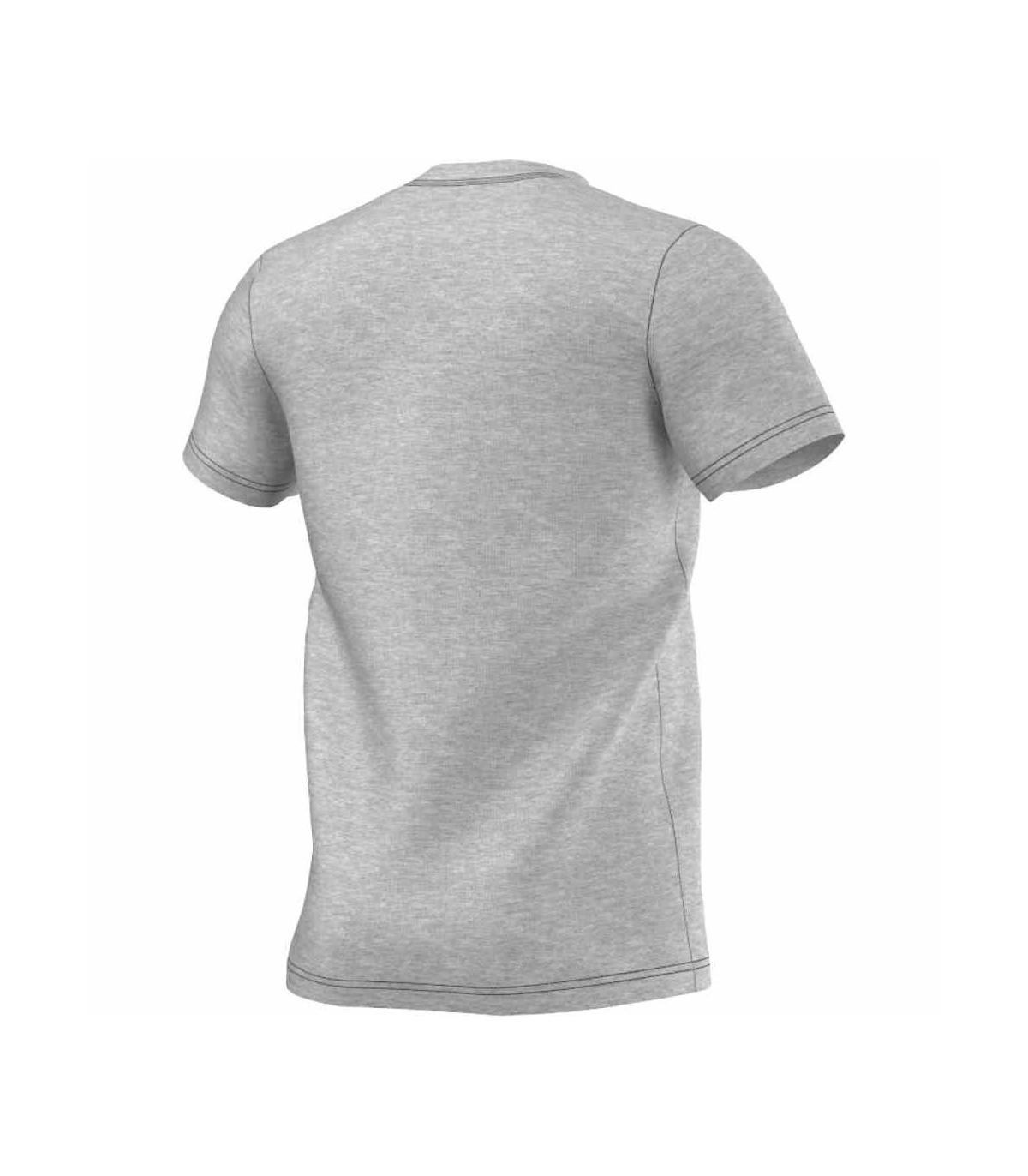 faabd47b9512 Adidas T-Shirt Ess Logo Men (Medium Grey Heather)
