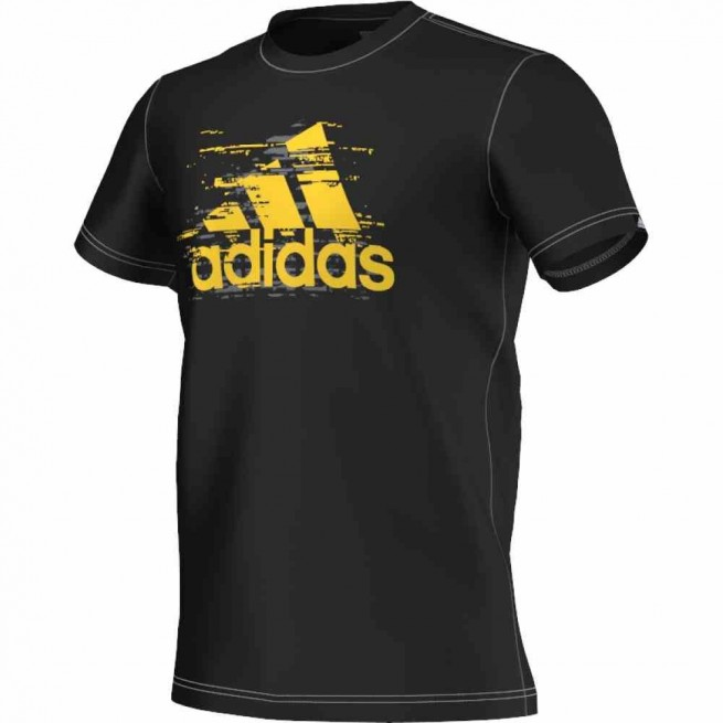Adidas T-Shirt Ess Logo Men (Black)
