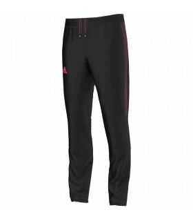 Adidas Barricade Pants for Men (Black/Red) | My-squash.com