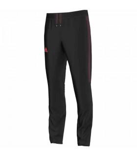 Adidas Barricade Pantalon pour Homme Noir/ Rouge | My-squash.com