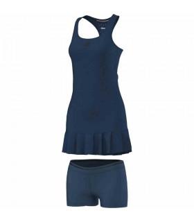 Adidas Robe Uncontrol Climachill Femme Bleu|My-squash.com