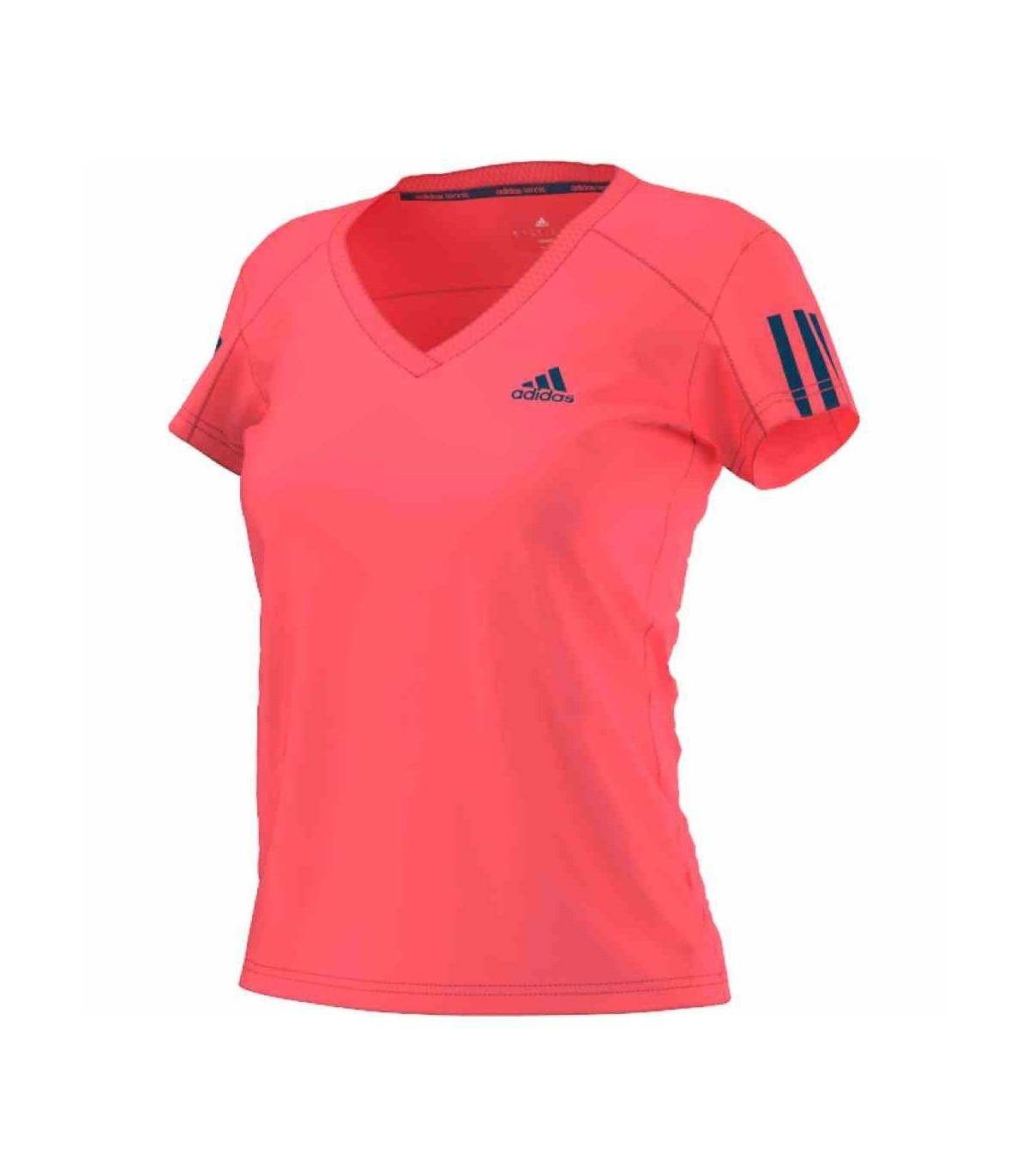 S15 My Adidas Red Club Tech T flash Shirt F16 Women Squash Steel HBqWHC