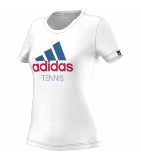 Adidas Tennis T-Shirt Women White | My-squash.com