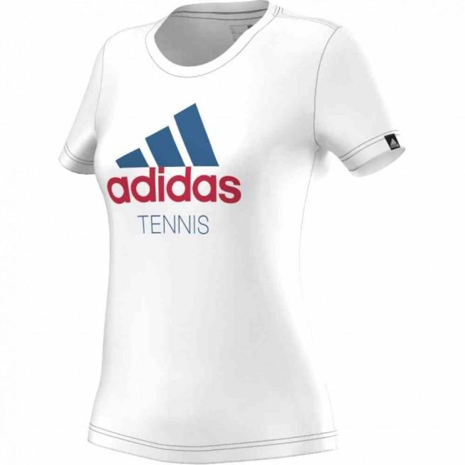 Adidas Tennis T-Shirt Women White | My-squash.com