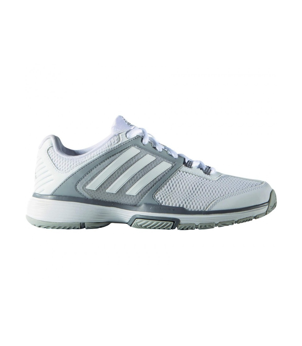 new concept 1be78 d35fa ... Adidas Barricade Club Femme Blanc  Argent · Chaussure ...