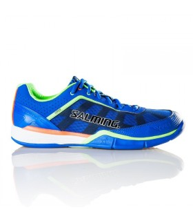 Chaussure squash Salming Viper 3 Royal/Gecko Green | My-squash.com