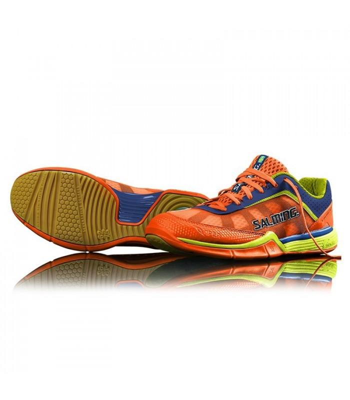 Salming Viper 3 Shocking Orange men squash shoes