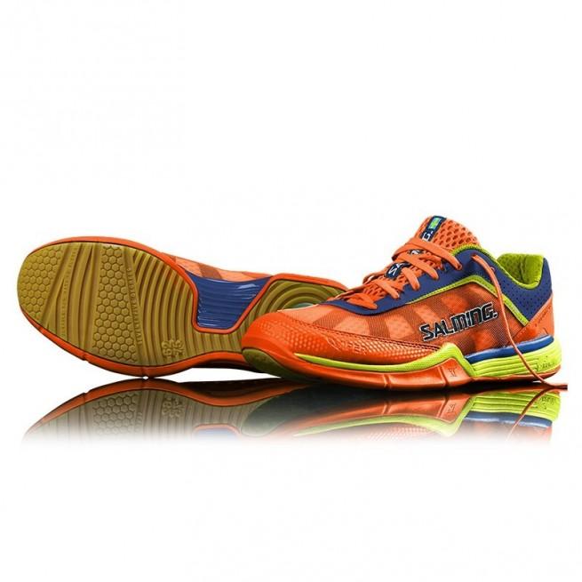 Chaussure squash Salming Viper 3 Shocking Orange | My-squash.com