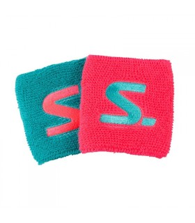Salming wristband Diva Pink/Turquoise