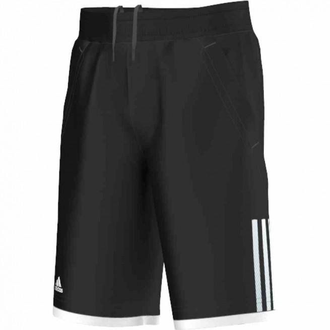 Adidas Short Club Bermuda Junior Black/ White | My-squash.com