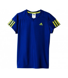 Adidas T-Shirt Club Junior Bleu | My-squash.com