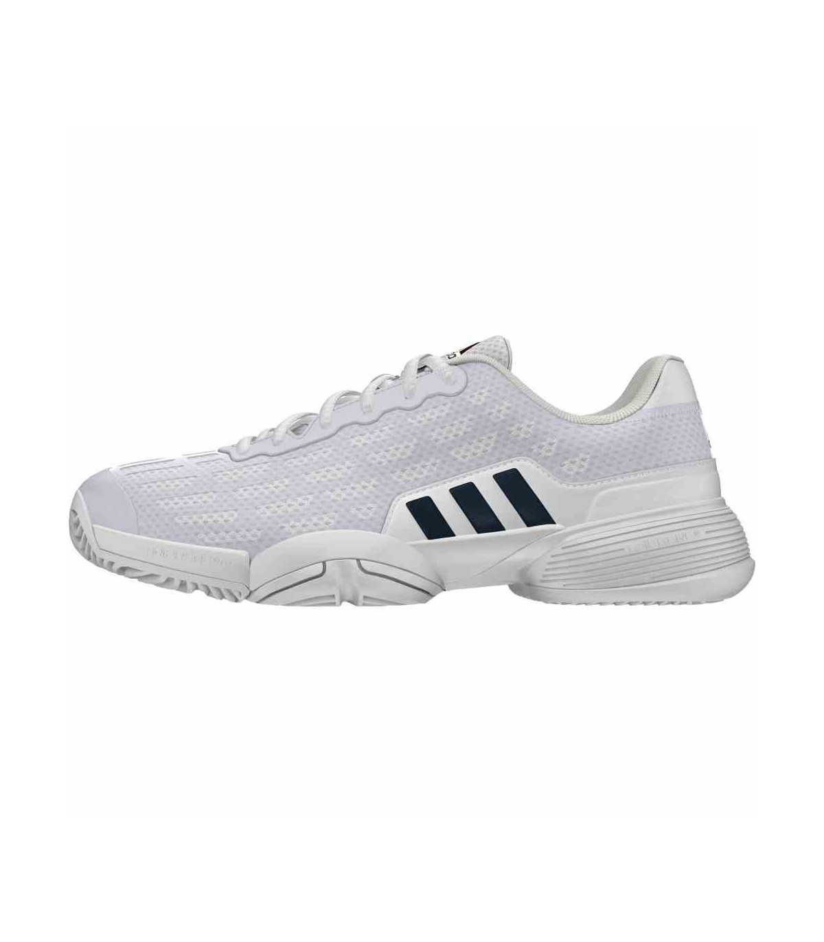 ... Adidas Barricade 2016 XJ Junior White Squash shoes · Adidas ... 85f795e5f97