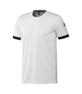 Adidas T16 Climacool T-Shirt Men (White/Black)