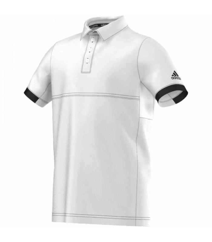 Adidas T16 Climacool Polo Junior (White/Black)