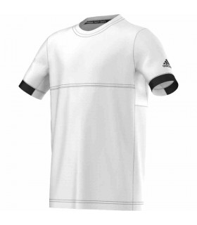 Adidas T16 Climacool T-Shirt Junior (White/Black)