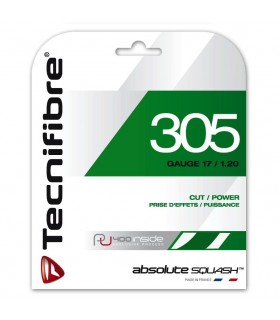 Cordage squash Tecnifibre 305 Squash vert 1.20mm 9.5m | My-squash.com