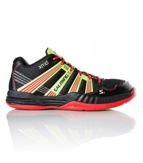 Salming Race R9 Mid 2.0 Black/Red Squash shoes | My-squash.com