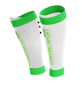 Compressport Pro Silicon R2 White - Racket