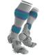 Compressport Play & DTox Full socks - White - Racket