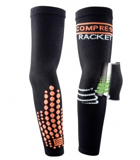 Compressport Elbow Silicon Armforce - Noir - Racket