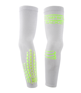 Compressport Elbow Silicon Armforce - Blanc - Racket