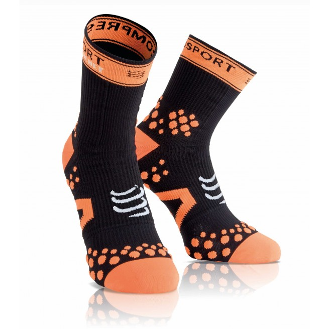 Compressport Strapping Double Layer Socks - Black - Racket