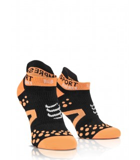 Compressport Strapping Double Layer Socks Low Cut - Noir - Racket