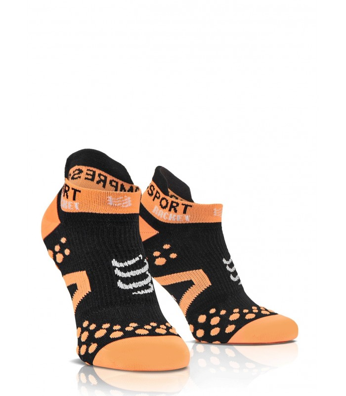 Compressport Strapping Double Layer Socks Low Cut - Black - Racket