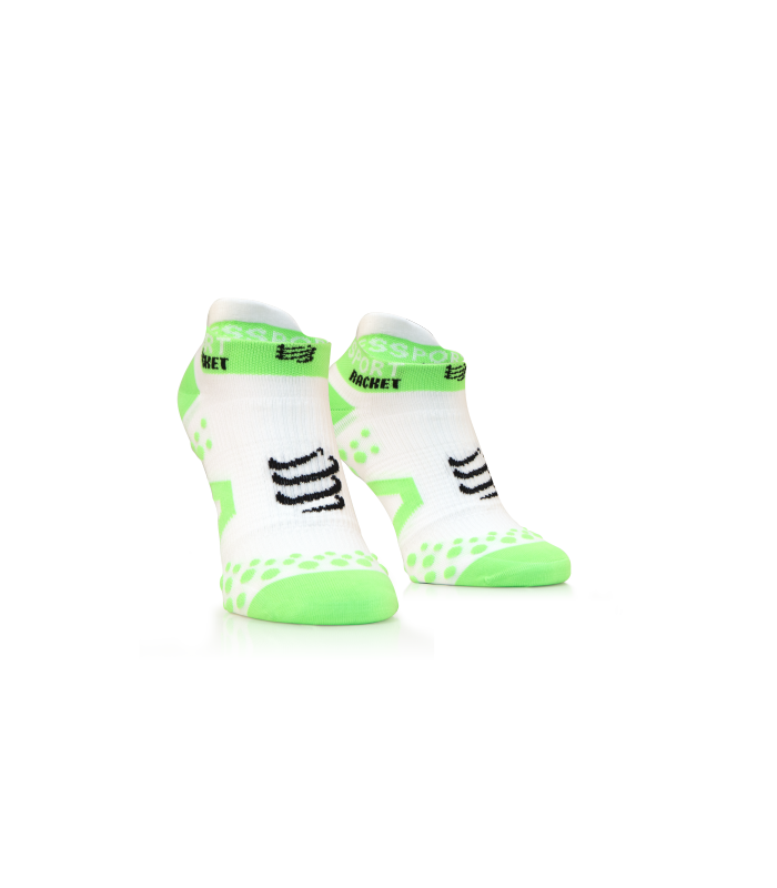 Compressport Strapping Double Layer Socks Low Cut - White - Racket