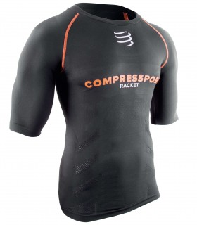 Compressport T-Shirt Short sleeve Top - Noir - Racket