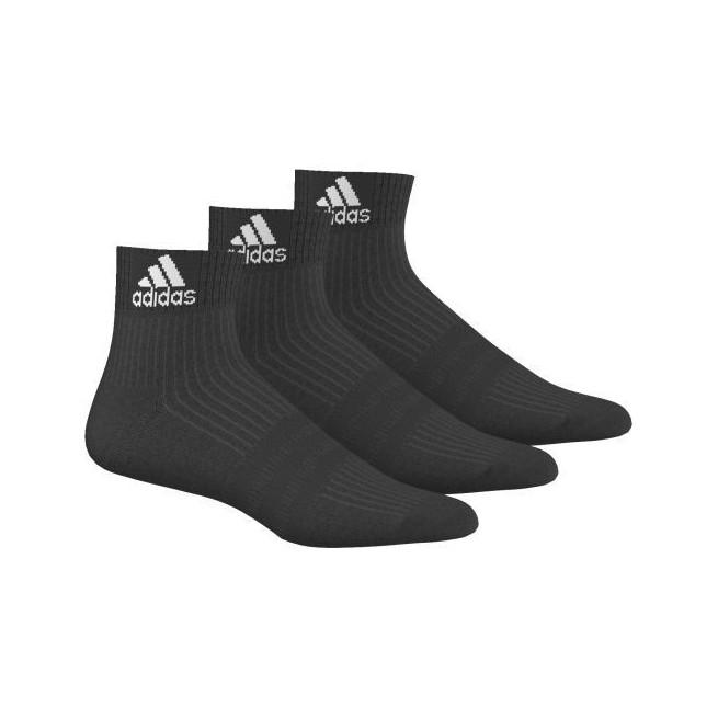 Chaussettes de squash noires - 3 paires