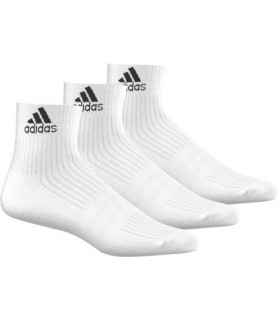 Chaussettes de squash blanches - 3 paires