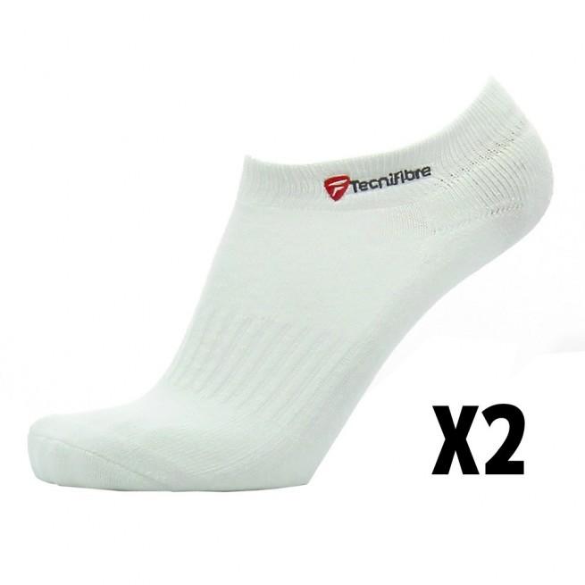 Tecnifibre ankle squash socks - White