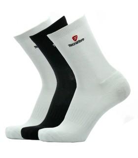 Tecnifibre Chaussettes blanches/noires