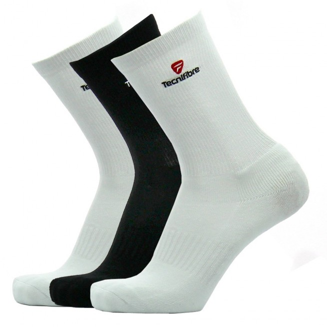 Tecnifibre squash socks - White/Black